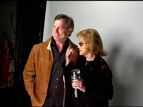 stephen collins and annmargret at the hollywood life's young hollywood awards portrait studio on may 1 2005 - ann margret stock videos & royalty-free footage