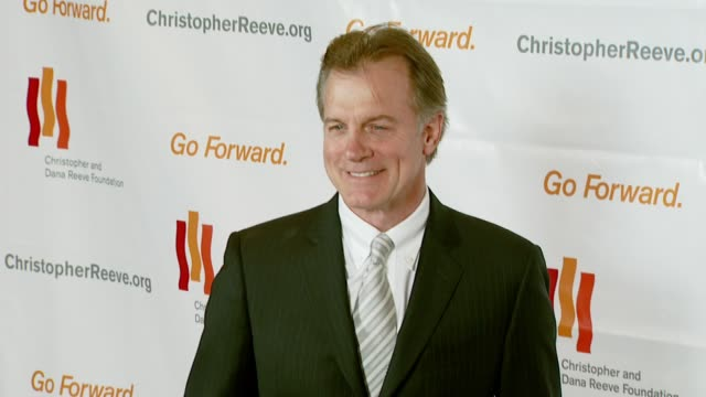 stephen collins at the third annual los angeles gala for the christopher and dana reeve foundation honoring robin williams at the century plaza hotel... - christopher and dana reeve foundation stock videos and b-roll footage