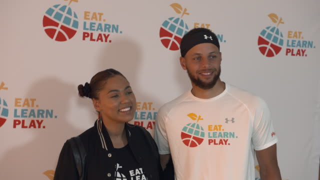 CA: Stephen And Ayesha Curry Celebrate Launch Of Eat. Learn. Play. Foundation