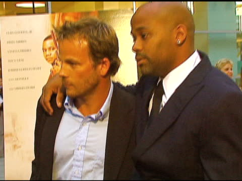 stockvideo's en b-roll-footage met stephen dorff and damon dash at the 'shadowboxer' los angeles premiere at arclight cinemas in hollywood california on july 19 2006 - stephen dorff