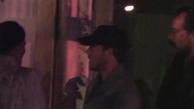 stockvideo's en b-roll-footage met stephen dorff at sur lounge in west hollywood 01/31/12 in celebrity sightings in los angeles - stephen dorff