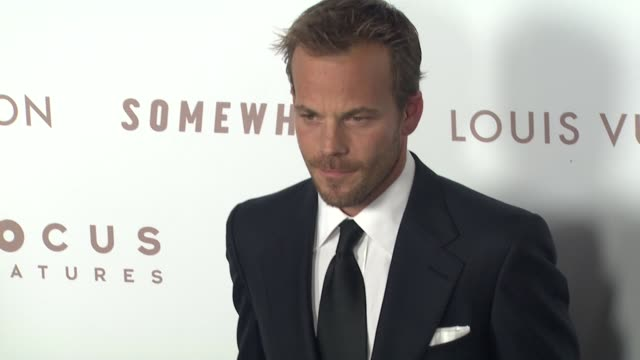 stockvideo's en b-roll-footage met stephen dorff at the 'somewhere' premiere at hollywood ca - stephen dorff