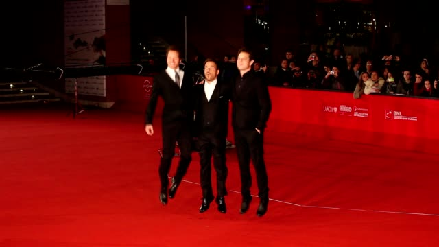 stockvideo's en b-roll-footage met stephen dorff gabe polsky and alan polsky at 'the motel life' premiere 7th rome film festival at auditorium parco della musica on november 16 2012 in... - stephen dorff