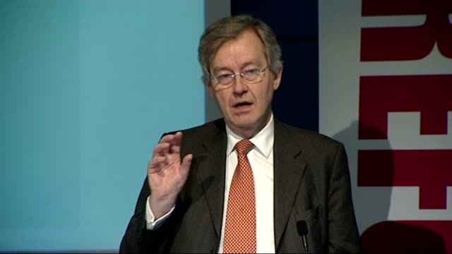 stephen dorrell speech to reform on nhs productivity england london royal college of nurning int stephen dorrell mp 'productivity challenge' speech... - parlamentsmitglied stock-videos und b-roll-filmmaterial