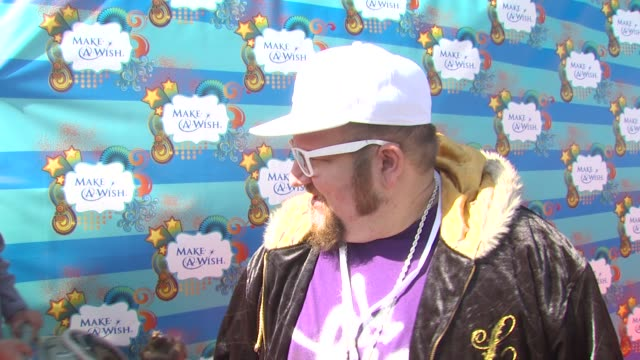 Stephen Glickman on why he wanted to be a part of the afternoon what he appreciates about the Make A Wish Foundation at the Kevin Steffiana James...