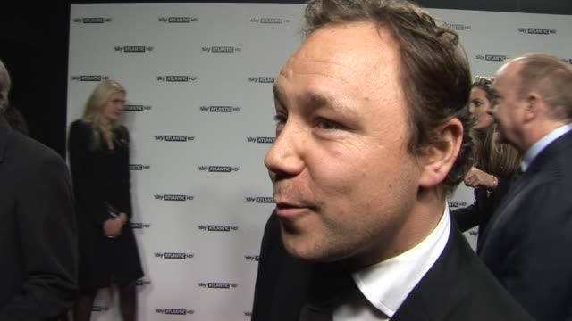 stephen graham on working with steve buscemi at the sky atlantic hd launch at london england - steve buscemi stock videos and b-roll footage