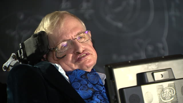 stephen hawking criticising donald trump's decision to quit the paris climate agreement - scolding stock videos & royalty-free footage