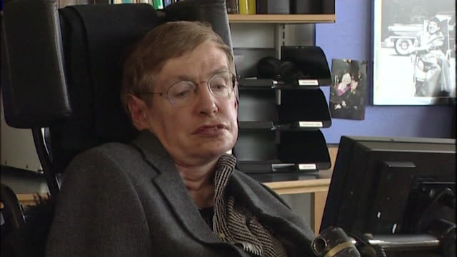 stephen hawking saying that 'if information can be lost [from black holes] it has important practical and philosophical consequences' - philosophy stock videos & royalty-free footage