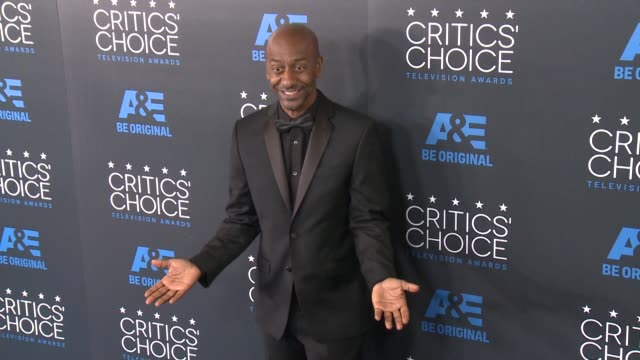 stephen hill at the 2015 critics' choice television awards at the beverly hilton hotel on may 31, 2015 in beverly hills, california. - 放送テレビ批評家協会賞点の映像素材/bロール