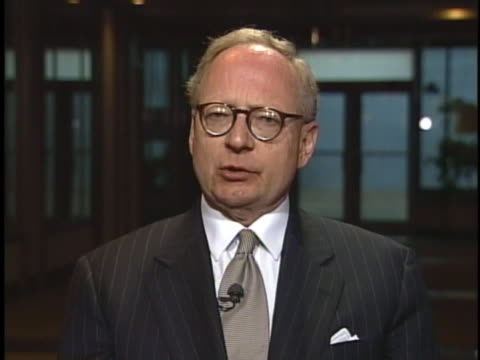 stephen jones, former attorney for oklahoma city bomber timothy mcveigh, discusses the slight possibility of a stay of execution. - terry nichols stock videos & royalty-free footage