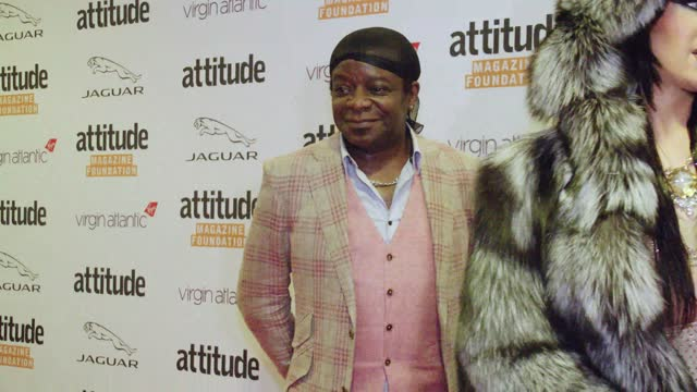 stephen k. amos attends the virgin atlantic attitude awards 2021 at the roundhouse on october 06, 2021 in london, england. - attitude stock videos & royalty-free footage