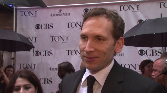 Stephen Kunken on being nominated for Enron what an honor it is On knowing at the time he was part of something good On enjoying the Tonys and the...