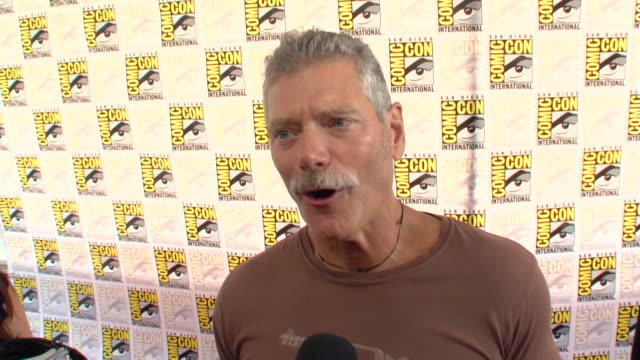 Stephen Lang on the villians in the film at the ComicCon 2009 'Avatar' Press Line at San Diego CA