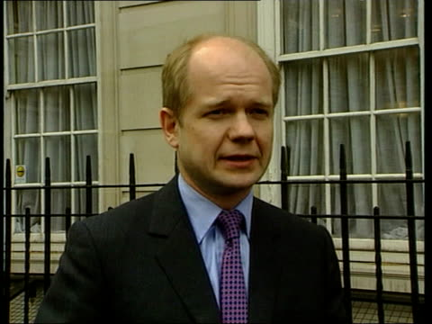 leaked report row ext william hague mp interviewed sot they are trying to suppress information in the public domain what are they afraid of why no... - will.i.am stock videos and b-roll footage