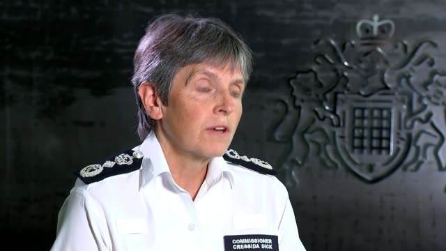 police investigation classified as inactive england london westminster new scotland yard int cressida dick interview sot do regret that we have not... - crime and murder stock videos & royalty-free footage