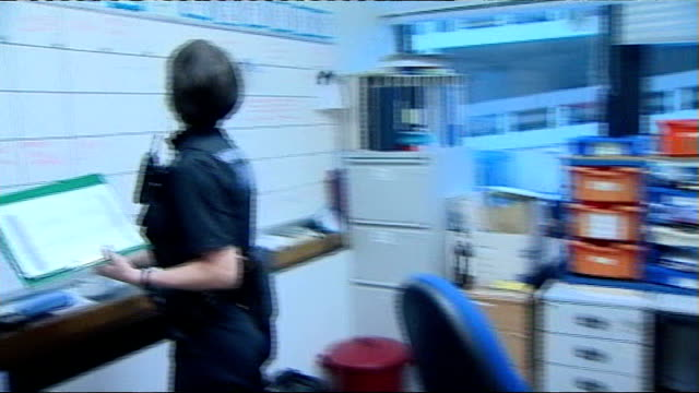 gary dobson and david norris sentenced / police to continue investigation date police officer along to whiteboard - criminal investigation stock videos & royalty-free footage