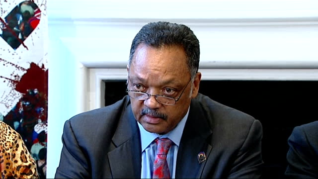 gary dobson and david norris sentenced jesse jackson press conference reverend jesse jackson press conference sot we followed this case for now... - 生後1ヶ月点の映像素材/bロール