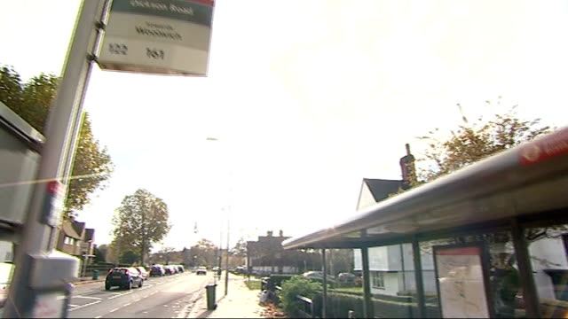 jurors told history of case is irrelevant date eltham bus stop where stephen lawrence was stabbed - bus stop stock videos & royalty-free footage