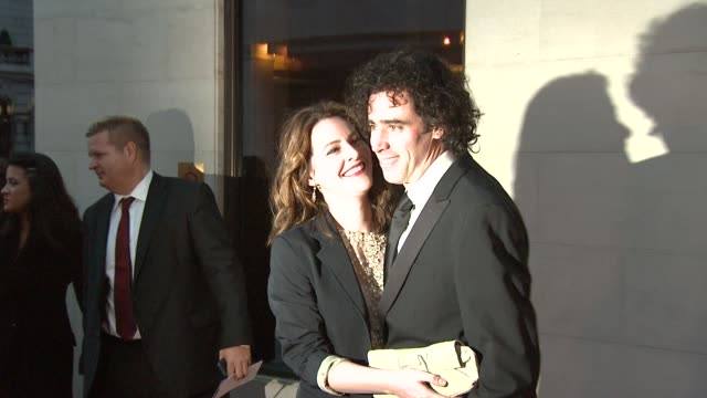 Stephen Mangan and Louise Delaware at the Laurence Olivier Awards 2009 at London