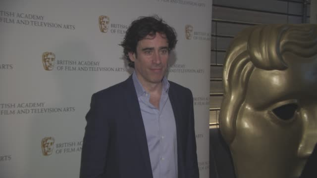 Stephen Mangan at BAFTA TV and TV CRAFT Nominees' Party at The Savoy Theatre on April 21 2016 in London England