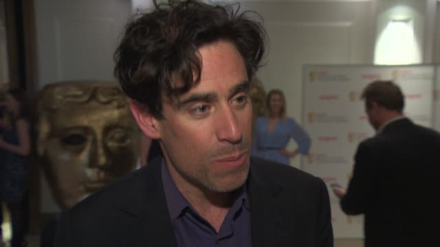 INTERVIEW Stephen Mangan talks about hosting the Bafta Craft awards at Bafta TV and Craft Party at Corinthia Hotel London on April 24 2014 in London...