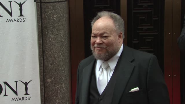 Stephen McKinley Henderson at the 64th Annual Tony Awards at New York NY