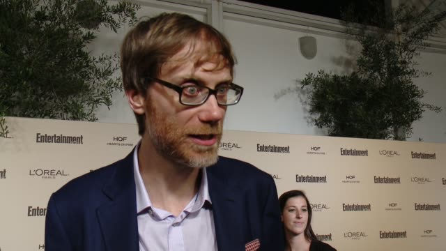 interview stephen merchant on favorite television moments from this past season and on what entertainment weekly means to them at entertainment... - entertainment weekly stock videos and b-roll footage