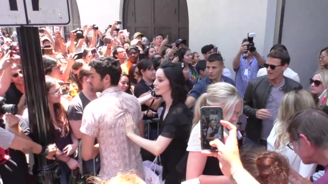 Stephen Moyer Amy Acker Sean Teale Jamie Chung Natalie Alyn Lind Percy Hynes White Emma Dumont Blair Redford and Coby Bell at Celebrity Sightings at...