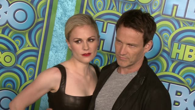 Stephen Moyer Anna Paquin at HBO's Post 65th Primetime Emmy Awards Reception on 9/22/2013 in Los Angeles CA