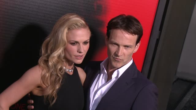 Stephen Moyer Anna Paquin at Premiere Of HBO's True Blood Season 6 on 6/11/2013 in Hollywood CA