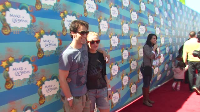 Stephen Moyer Anna Paquin at the Kevin Steffiana James Host A MakeAWish Event at Santa Monica CA