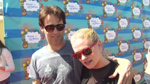 Stephen Moyer Anna Paquin on why they wanted to be a part of the afternoon what they appreciate about the Make A Wish Foundation their greatest...