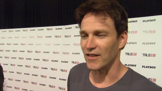 Stephen Moyer at Playboy True Blood 2012 Event on 7/14/12 in San Diego CA