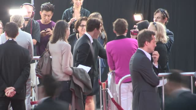 Stephen Moyer greets a fan before entering the True Blood Final Season Premiere at the TCL Chinese Theatre in Hollywood Celebrity Sightings in Los...