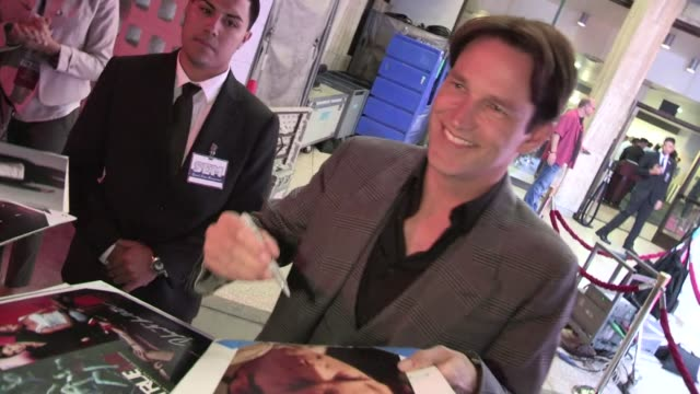 Stephen Moyer greets fans at the True Blood Season 5 Premiere at Archlight in Hollywood 05/30/12 Stephen Moyer greets fans at the True Blood Season...