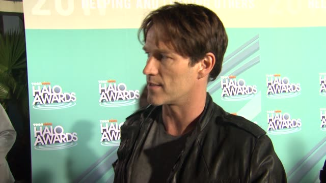 Stephen Moyer on why he wanted to come celebrate the Halo Awards