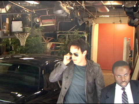 Stephen Moyer poses for photographers as he arrives at 'Live with Regis Kelly' in New York 08/10/11