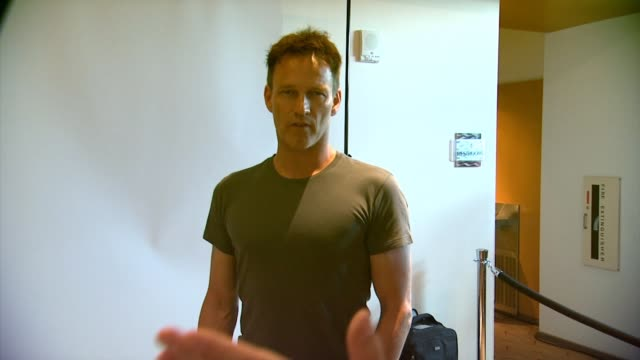 Stephen Moyer WIRED Cafe @ ComicCon Day 2 at Omni Hotel on July 25 2014 in San Diego California