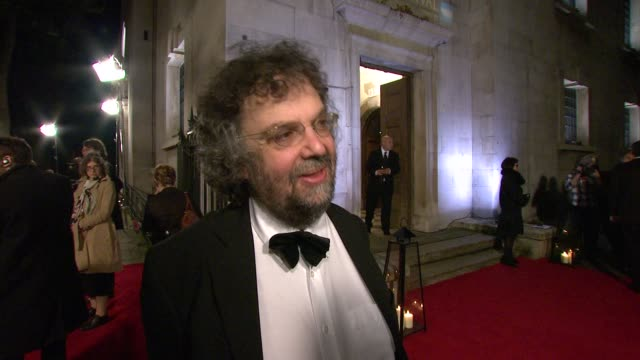 vídeos de stock, filmes e b-roll de stephen poliakoff on how interesting he found the film's nurturing new talent the state of the british film industry at the 54th bfi london film... - stephen poliakoff