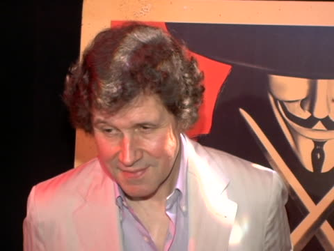 Stephen Rea at the V For Vendetta New York Premiere at The Rose Theater in New York City New York