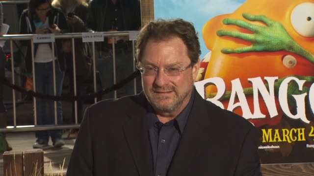 stephen root at the 'rango' premiere at westwood ca - westwood stock videos & royalty-free footage