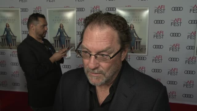 interview stephen root on the legacy of ruth bader ginsburg at the on the basis of sex opening night world premiere gala screening presented by focus... - participant stock videos and b-roll footage