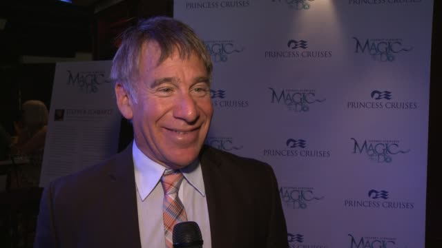 INTERVIEW Stephen Schwartz on on why and how he got involved in creating the original shows for Princess Cruises what songs he incorporates writing...