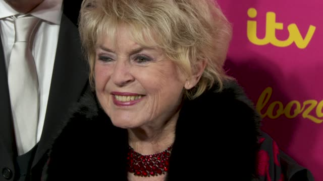 stephen way, gloria hunniford at itv palooza at the royal festival hall on november 12, 2019 in london, england. - グロリア ハニフォード点の映像素材/bロール