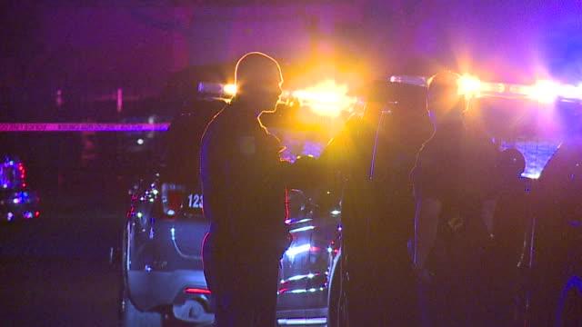 ktxl stephon clark shot killed by police in south sacramento - 犯罪捜査点の映像素材/bロール