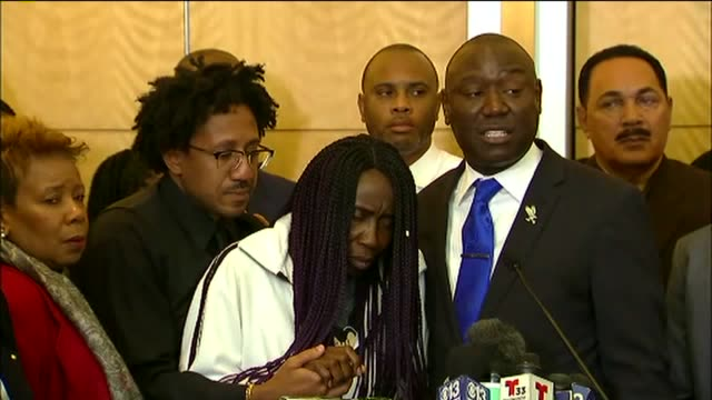 stephon clark's family, their attorney and representatives from the naacp and the national action network demanded change at city hall. - naacp stock videos & royalty-free footage