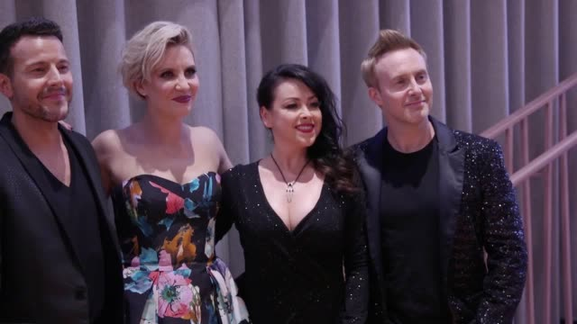 steps attend a special screening of their new dvd party on the dancefloor at the everyman cinema in london's kings cross - dvd stock videos & royalty-free footage