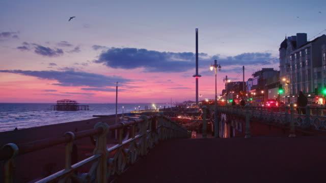 Steps to Brighton Beach