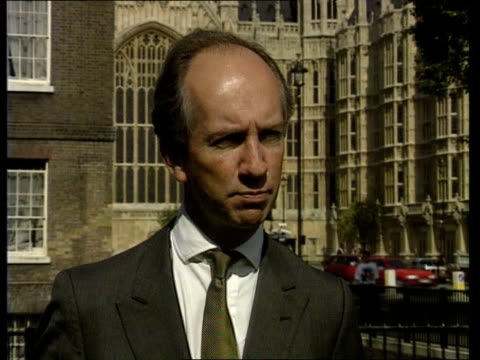 Political reaction ENGLAND London Tim Smith intvwd SOF Inflation is an evil CMS John Wilkinson MP intvwd SOF I'd like to see the govt cut interest...