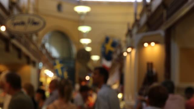 Östermalms Saluhall in Stockholm, Sweden